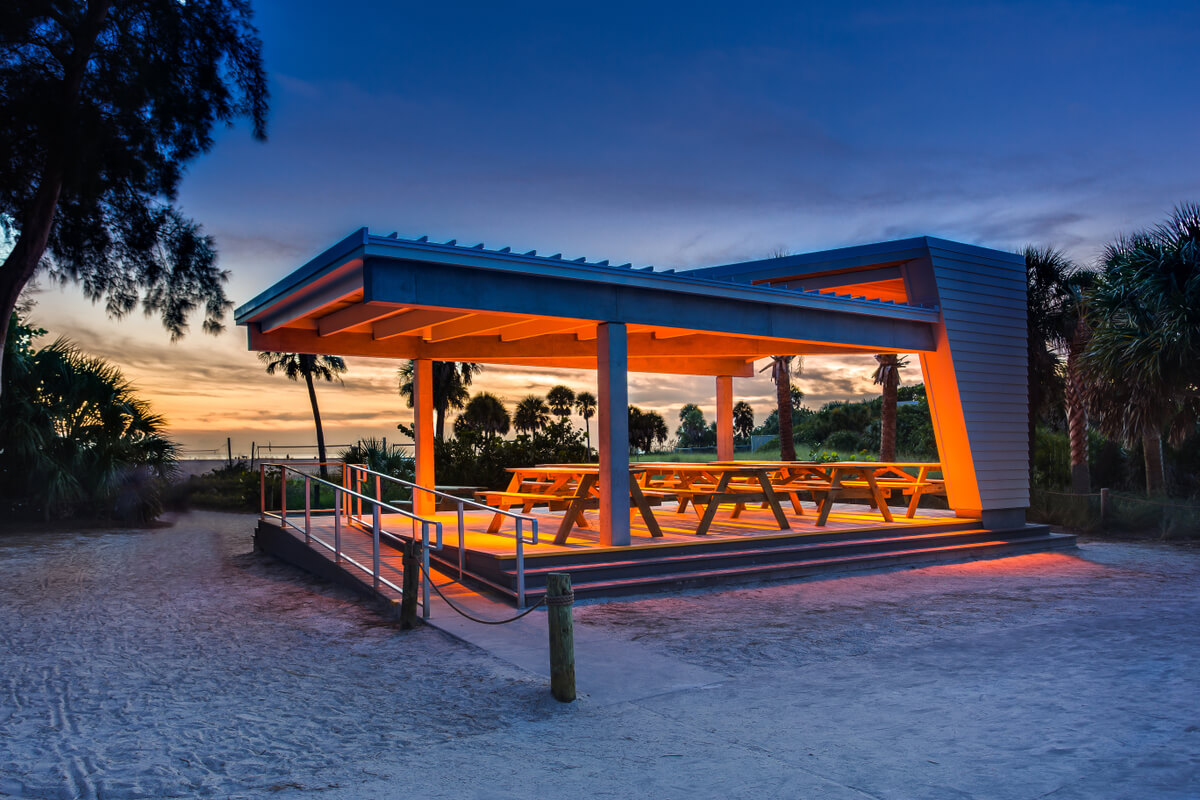 Jon F. Swift Construction | Siesta Beach Park Improvement Project | Sarasota County