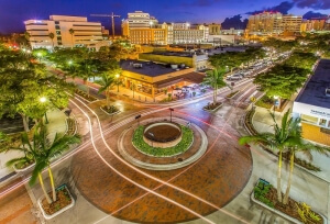 Jon F. Swift Construction | Main and Orange Roundabout| City of Sarasota