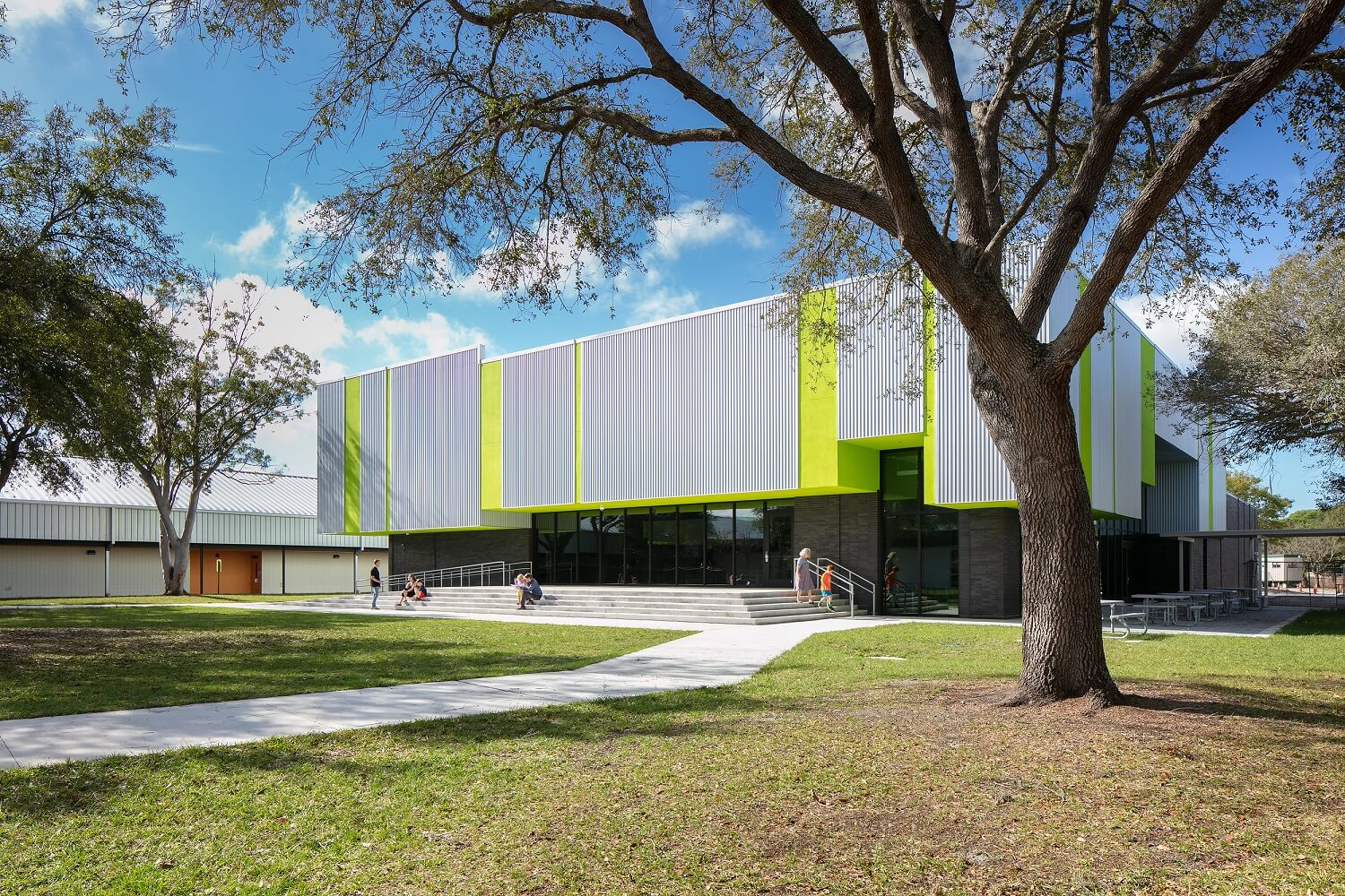 Brentwood Elementary Cafetorium | Jon F. Swift Construction