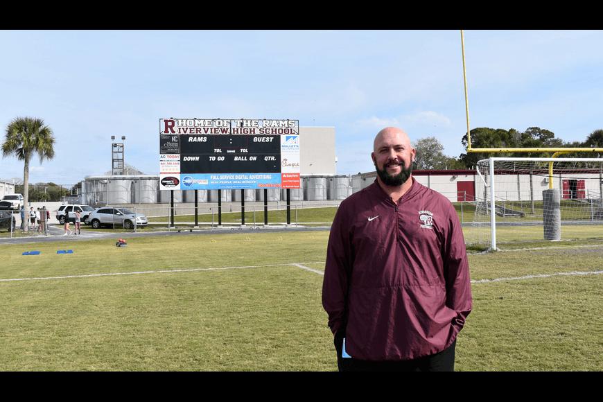 Riverview High School Football Coach Joshua Smithers