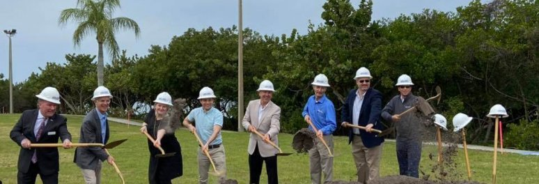 The Bay Park Conservancy breaks ground on Mangrove Bayou Walkway
