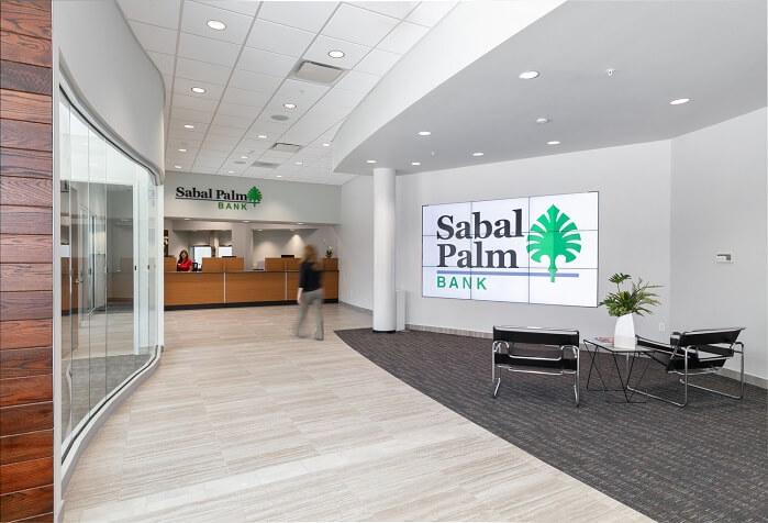 Sabal Palm Bank Downtown Sarasota | Jon F. Swift Construction